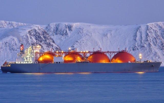 Arctic Voyager ship LNG