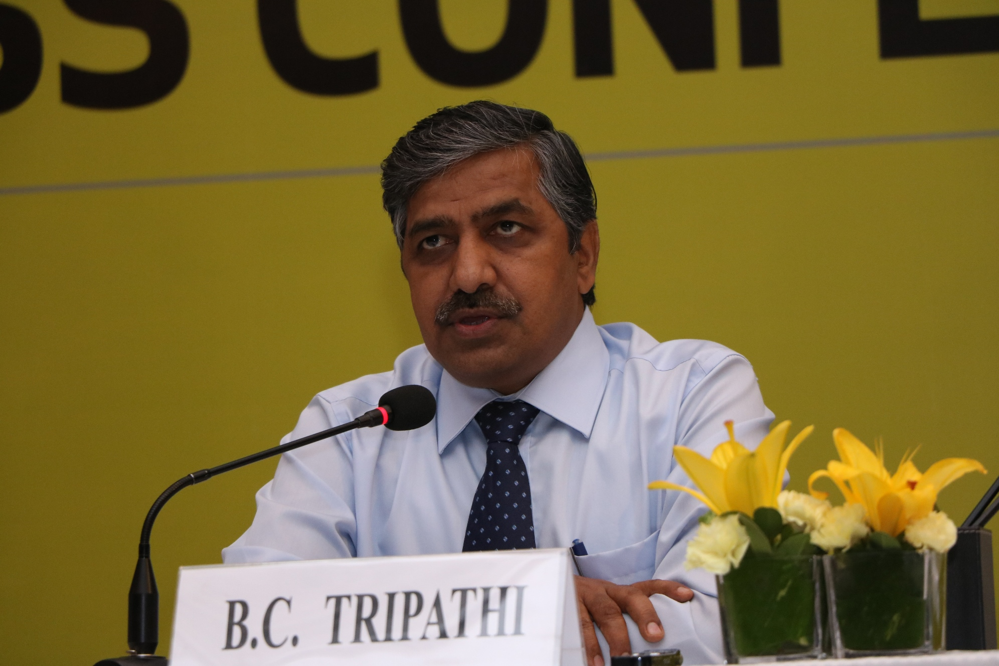 GAIL CMD Shri B C Tripathi