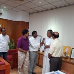 GAIL employees contribute one day salary for relief work in Kerala