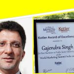 GAIL received Kotler Award of Excellence for Best Marketer in PSU at the World Marketing Summit India 2018